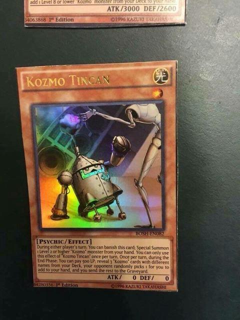 【遊戯王TCGフラゲ】海外のBOSH新規収録 『Kozmo Tincan』、『Kozmo Soartroopers』、『Kozmo Delta Shuttle』、『Kozmo Dark Eclipser』、『Kozmojo』が判明!