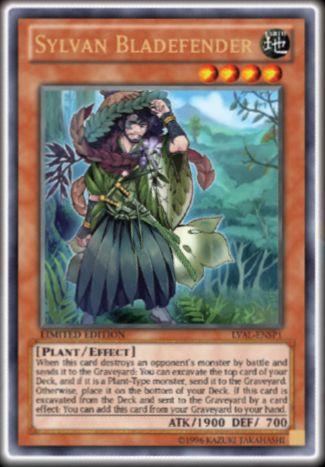 【遊戯王TCGフラゲ】海外のLVALに新しい森羅「Sylvan Bladefender」が収録決定!