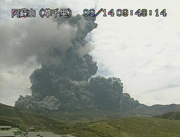 【阿蘇山噴火】宿泊解約400人超に悲鳴…「安心して来てほしい」呼びかけ