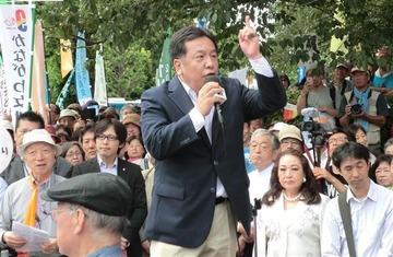 民進・枝野「安倍自民党は保守じゃない!私たちこそが保守だ!」