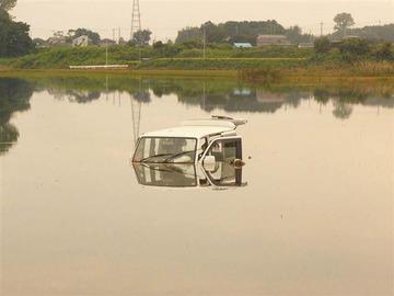 【東日本豪雨】水没車両から20年前に失踪した男性とみられる遺体…前日の見回りでは発見されず