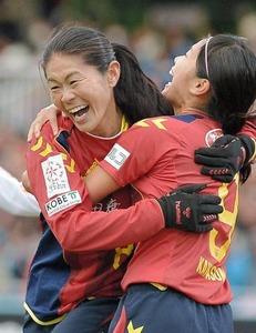 【サッカー】澤穂希、現役最後の試合で決勝ゴール! INAC神戸が皇后杯優勝
