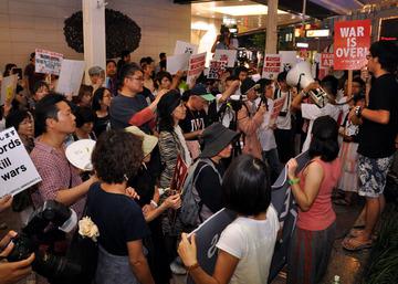 在日4世「参政権はないけど、自分の住む国の政治に声を上げたい」…「戦争法案」許さない、若者300人声上げ