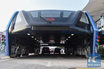 中国「頭上を走るバス」に詐欺疑惑が浮上…実現性や資金源を疑問視する声