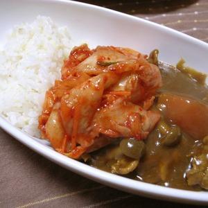 韓国「カレーの最高のパートナーはキムチ。日本の福神漬けがワンランク下であるのは誰の目にも明らかだ」