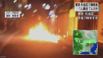 杉並のサンバカーニバルに火炎瓶投げ込まれて15人けが…東京