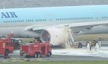 大韓航空機出火、都心墜落の大惨事を管制官の通報でギリギリ回避