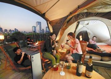 【話題】「つらいキャンプは嫌だ」とベッド&冷暖房付きの快適テントが人気