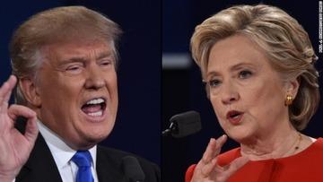 トランプ、テレビ討論会後に無党派層の支持が急落
