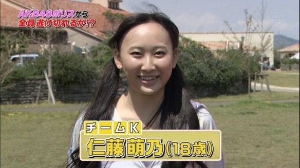 AKB仁藤萌乃「私はお○こに自分の指が何本入るのか小学生の頃から試してました」