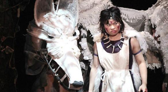 【画像】舞台版『もののけ姫』のクオリティが酷すぎると話題に