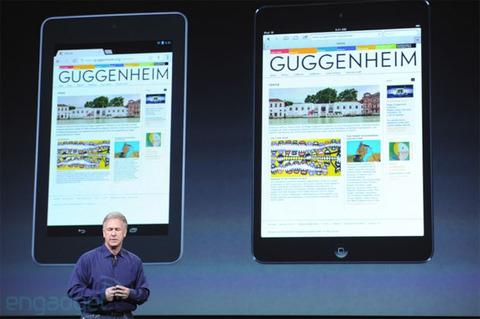 【モバイル】iPad mini、価格高めとの見方にアップル幹部が反論