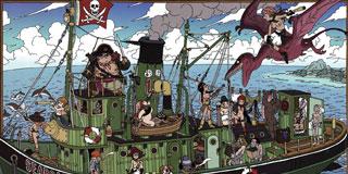鳥山明の描く海賊団wwwwwwwwww