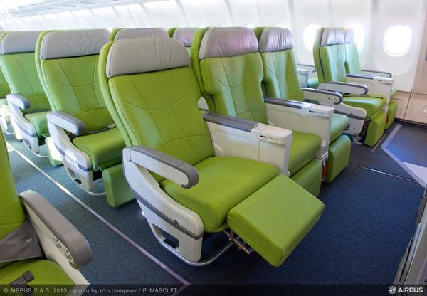 20131209-A330 SKYMARK INTERIOR CABIN SEAT
