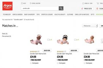 英・通販会社「黒人とアジア人の人形は白人よりも10ポンドお安くなっております」 → 人種差別問題に発展して謝罪