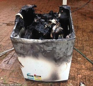 サムスン洗濯機60台が 火 病 を発症! 何度リコールしても発病し続けてオーストラリア激怒wwwww