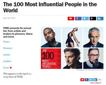 米タイム誌「影響力のある100人」ネット投票でK-POPアイドルが2位にランクイン → 「影響力が無い」という理由で除外されるwwwww