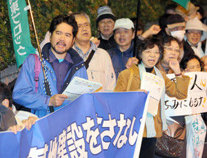 【辺野古】「あなたたちが、大変な基地を押しつけているんでしょ」 沖縄の基地反対派、本土の無関心に苛立ち