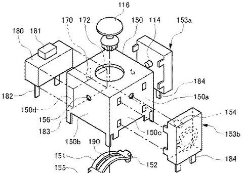 PSVitaのアナログスティックに押し込み操作が追加か!? それらしき特許をソニーが、出願していたことが判明!
