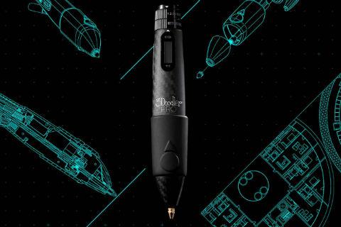 ペン先から樹脂を出して立体的な絵が描ける3Dペン「3Doodler」の新モデルが登場!