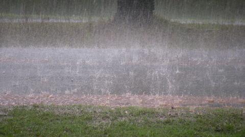 遠くから見たゲリラ豪雨がヤバいwwwwwwwwww 雷で停電も…