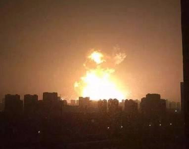 【動画あり】中国にある天津市のガソスタ?が大爆発!ヤベぇことになってるんだけど…