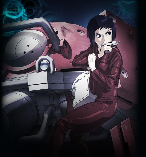 【攻殻機動隊ARISE】BD/DVD 第1巻ジャケット公開!!アニメデザインとはまた違った少佐のイメージがかっこいい!!