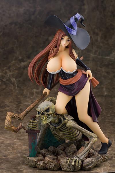 【ドラゴンズクラウン】フィギュア『ソーサレス』予約開始!ばくぬーボディ&繊細な造形が素晴らしい!!
