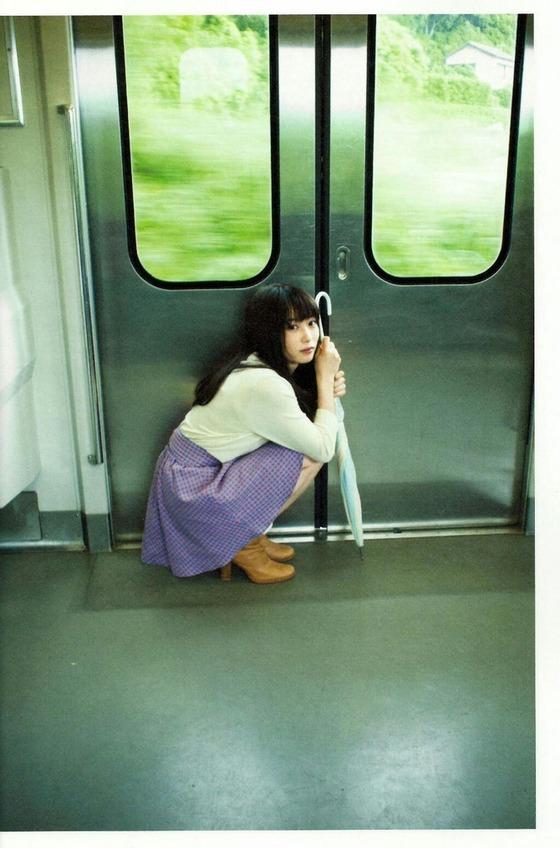 志田未来が電車に乗ってたよ(画像あり)