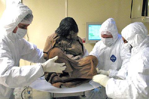 【閲覧注意】 15歳の少女。500年前のミイラが生々しすぎる件 ・・・・・・・・・・・・・・・・・・
