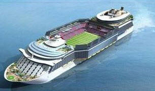 【韓国/造船】STXチョン副社長「FIFAやカタールW杯組織委員会にサッカー場クルーズ船を提案した」