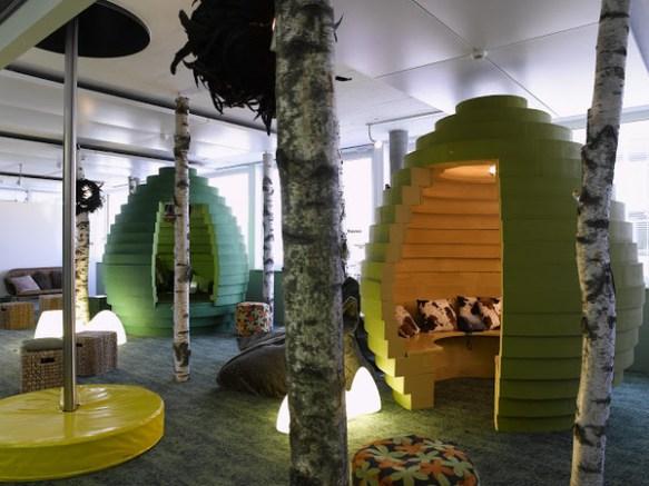 【衝撃画像】 こんな所で働いてみたい!世界のオフィスが想像以上にすごい・・・・・・・・・・・・・