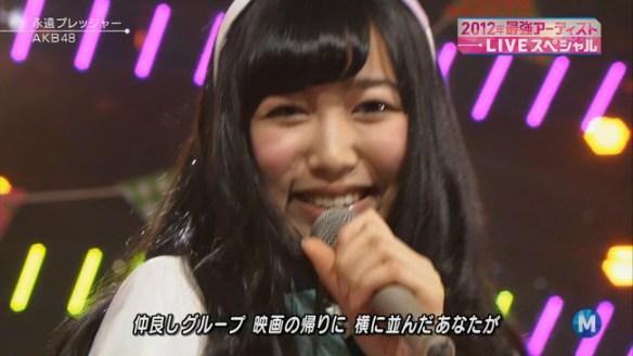 SKE48上野圭澄Mステ初出演おめでとう!