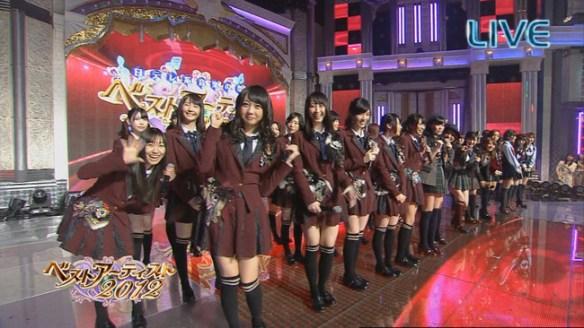SKE48出演 ベストアーティスト2012まとめ やっぱり片φいいなあ
