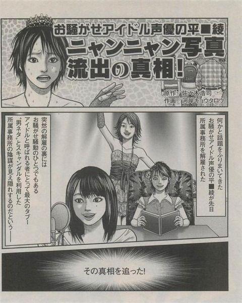 平野綾のスキャンダル 5