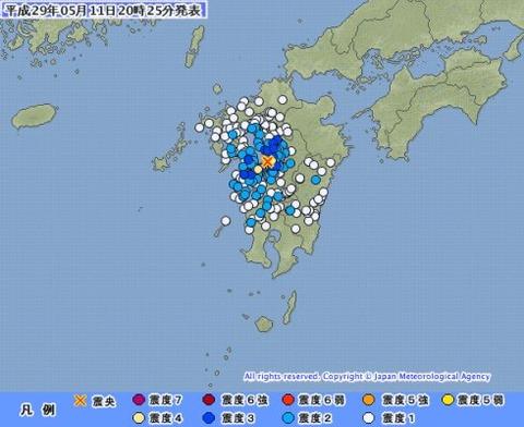 5月13日 地震