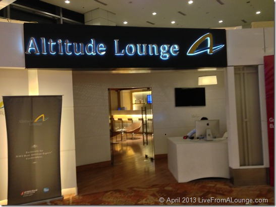 Delhi Altitude Lounge entrance T3