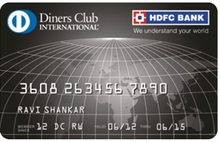 HDFC Bank Diners Club Black