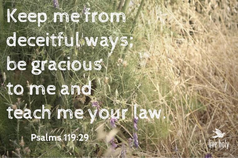 Psalms119:29