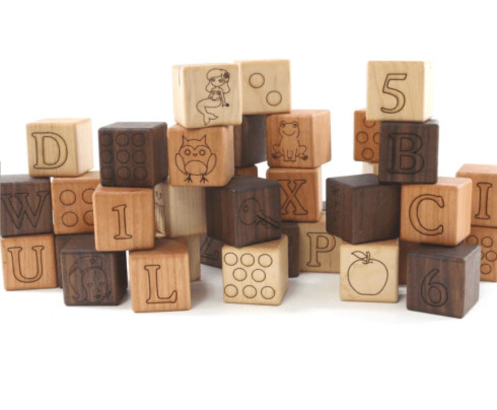 handmade wooden children's toys