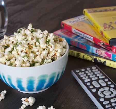 Parmesan Dill Popcorn