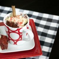 Red Velvet Mug Cake