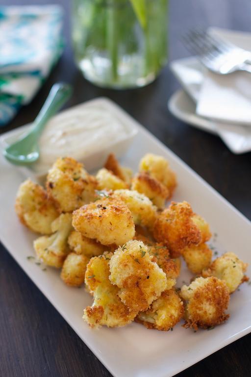Crispy Cauliflower Bites