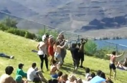 sasquatch dance party