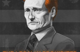 conan o'brien tour poster 2010