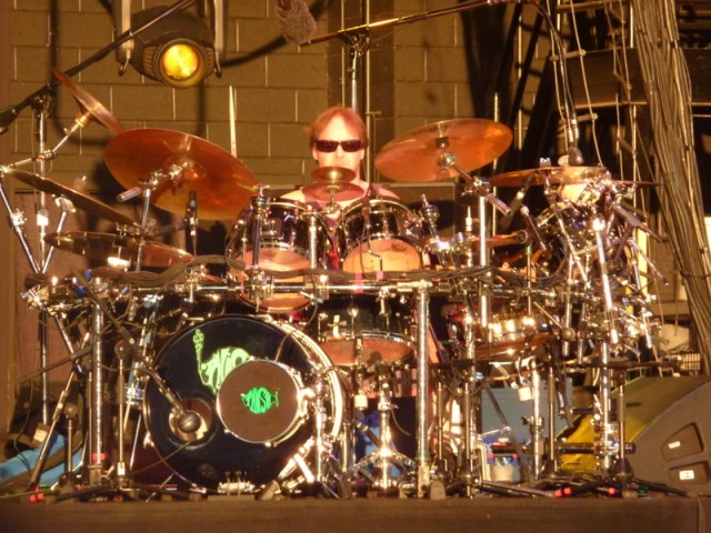 Behind the Kit