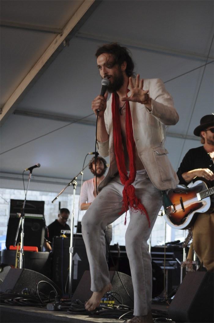 Edward Sharpe & the Magnetic Zeros @ Newport Folk 2010