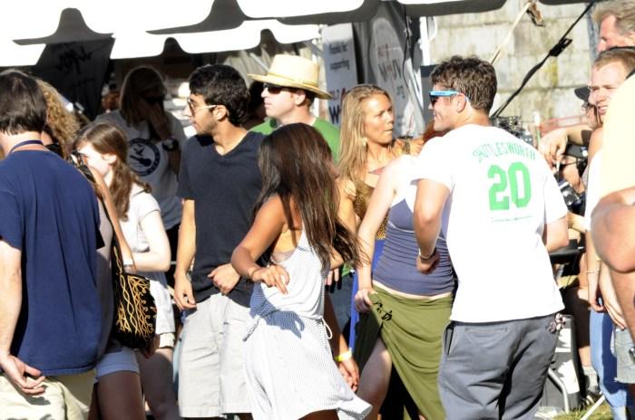 Dance party @ Newport Folk 2010