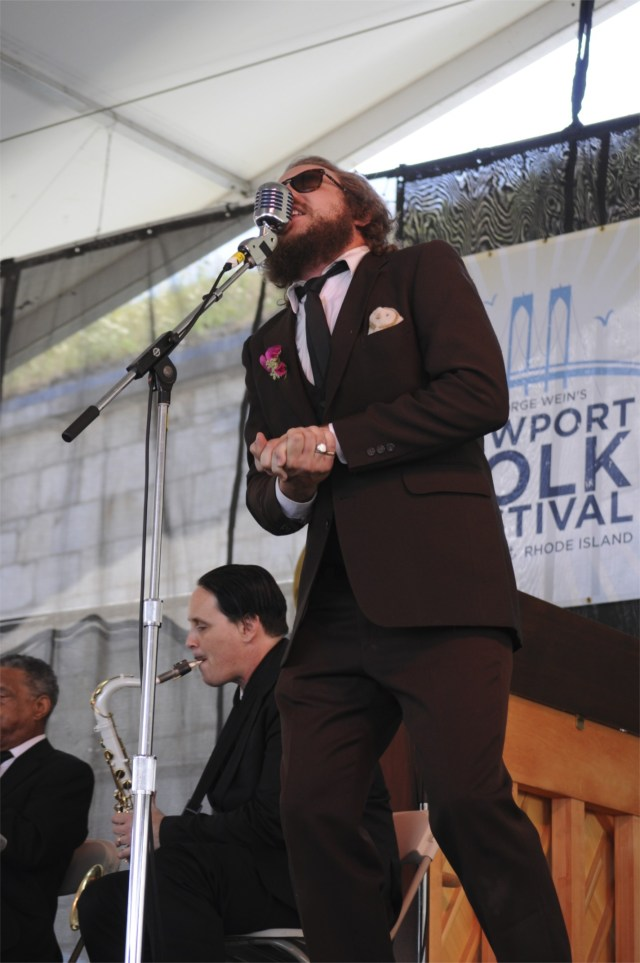 Preservation Hall Jazz Band with Yim Yames @ Newport Folk 2010