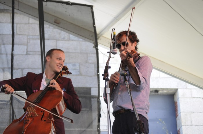 Preservation Hall Jazz Band with Ben Soilee and Andrew Bird @ Newport Folk 2010
